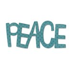 Sizzix - Homegrown and Handmade Collection - Originals Die - Phrase, Peace 2