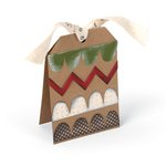 Sizzix - Homegrown and Handmade Collection - Christmas - Bigz L Die - Card, Tag