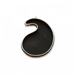 Sizzix - Leather Jewelry Collection - Findings - Paisley Bezel - Silver