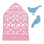 Sizzix - Favorite Things Collection - Thinlits Die - Birdcage