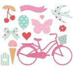 Sizzix - Favorite Things Collection - Thinlits Die - Whimsy and Delight
