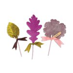 Sizzix - Favorite Things Collection - Bigz Die - Millinery Leaves
