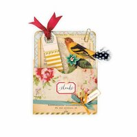 Sizzix - Favorite Things Collection - Bigz XL Die - Library Pocket