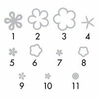 Sizzix - Triplits Die - Flowers 3