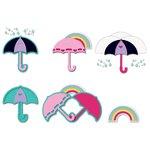Sizzix - Triplits Die - Umbrellas