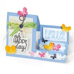 Sizzix - Framelits Die - Card, Oh Happy Day Mini Step-Ups
