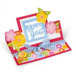 Sizzix - Framelits Die - Card, Thinking of You Mini Stand-Ups