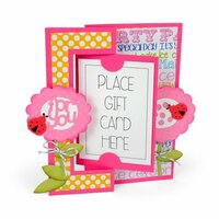 Sizzix - Framelits Die - Card, Gift Card Flip-its