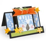 Sizzix - Framelits Die - Card, Cute as a Bug Step-Ups