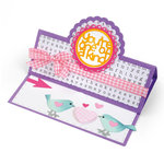 Sizzix - Framelits Die - Card, Scallop Circle Stand-Ups