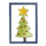 Sizzix - Let it Snow Collection - Christmas - Thinlits Die - Christmas Tree 2