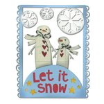 Sizzix - Let it Snow Collection - Christmas - Thinlits Die - Let it Snow
