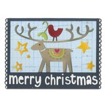 Sizzix - Let it Snow Collection - Christmas - Thinlits Die - Merry Christmas