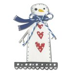 Sizzix - Let it Snow Collection - Christmas - Thinlits Die - Snowman