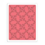 Sizzix - Garden Party Collection - Textured Impressions - Embossing Folders - Lattice 4