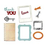 Sizzix - Thinlits Die - Arrows, Frames, Key and Notebook Paper