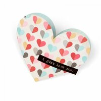 Sizzix - Bigz Die - Heart Pocket