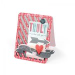 Sizzix - Bigz XL Die - Card, A2 Striped