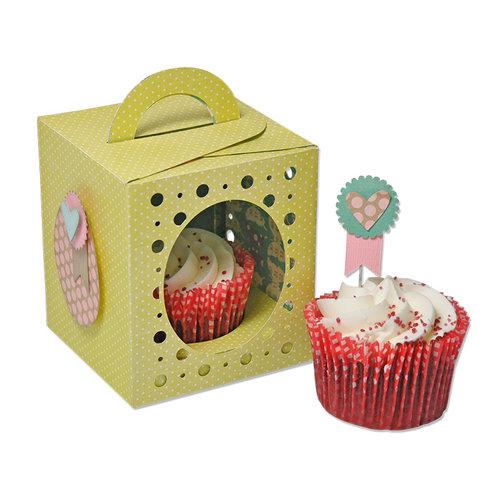 Sizzix - Framelits Plus Die - Box, Cupcake