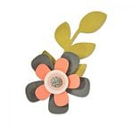 Sizzix - My Kind of Happy Collection - Bigz Die - Garden Flower