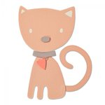 Sizzix - My Kind of Happy Collection - Bigz Die - Kitten