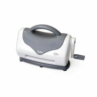 Sizzix - Texture Boutique Embossing Machine Only - White and Gray