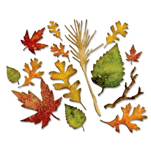Autumn Fall Maple Leaves Metal Cutting dies for Card Making Scrapbooking//DIY