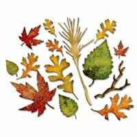Sizzix - Tim Holtz - Alterations Collection - Thinlits Die - Fall Foliage