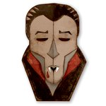 Sizzix - Tim Holtz - Alterations Collection - Halloween - Thinlits Die - Vampire
