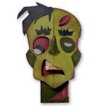 Sizzix - Tim Holtz - Alterations Collection - Halloween - Thinlits Die - Zombie