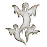 Sizzix - Tim Holtz - Alterations Collection - Halloween - Bigz Die - Ghosts