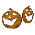 Sizzix - Tim Holtz - Alterations Collection - Halloween - Bigz Die - Jack-o-Lanterns