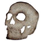 Sizzix - Tim Holtz - Alterations Collection - Halloween - Bigz Die - Skull