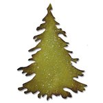 Sizzix - Tim Holtz - Alterations Collection - Christmas - Bigz Die - Evergreen