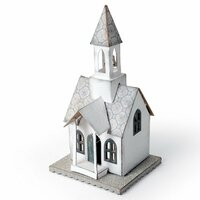 Sizzix - Tim Holtz - Alterations Collection - Christmas - Bigz Die - Village Bell Tower
