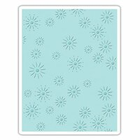Sizzix - Tim Holtz - Alterations Collection - Christmas - Texture Fades - Embossing Folder - Sparkles