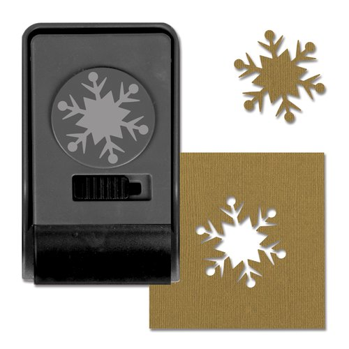 Sizzix - Tim Holtz - Alterations Collection - Christmas - Paper Punch - Snowflake 2, Large