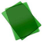 Sizzix - Cutting Pad - Standard - 1 Pair - Apple Green