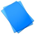 Sizzix - Cutting Pad - Standard - 1 Pair - Blueberry