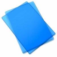 Sizzix - Cutting Pad - Standard - 1 Pair - Blueberry