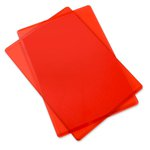 Sizzix - Cutting Pad - Standard - 1 Pair - Cherry Red