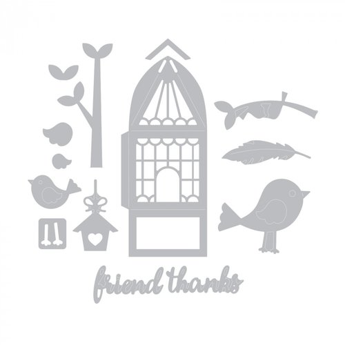 Sizzix - Thinlits Die - For the Birds