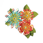 Sizzix - Thinlits Die - Mix and Match Flowers