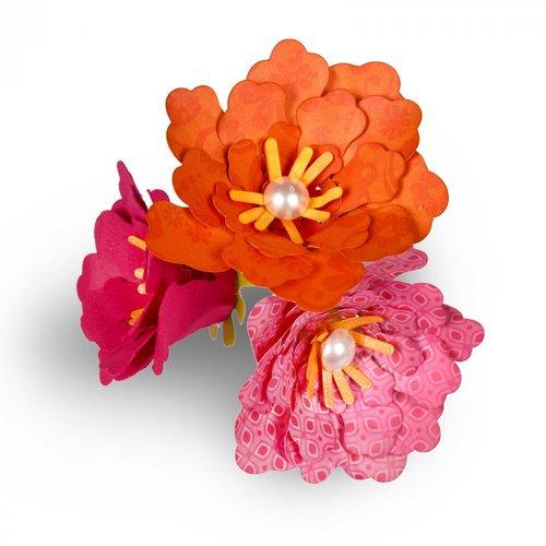 Sizzix - Thinlits Die - Flower, Rolled