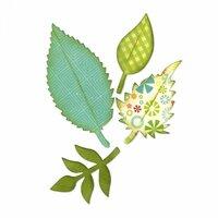 Sizzix - Bigz Die - Leaves, Spring