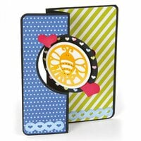 Sizzix - Framelits Die - Card, Mini Circle Flip-its