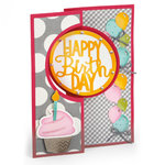 Sizzix - Framelits Plus Die - Card, Circle Flip-its