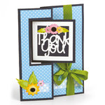 Sizzix - Framelits Plus Die - Card, Square Flip-its