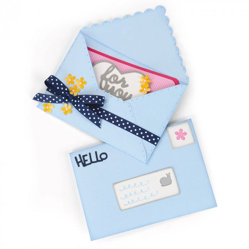 Sizzix - Framelits Plus Die - Envelope, Mini