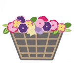 Sizzix - Thinlits Die - Flower Basket